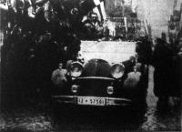 Hitler Adolf első utja a Saar-vidéken