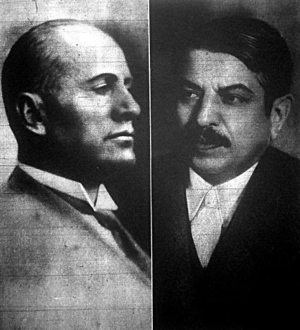 Mussolini és Laval