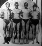 A magyar 4x200 méteres gyorsúszó stféta - Angyal, Csík, Lengyel és Gróf