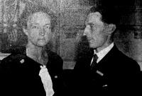 Joliot és felesége, Curie leánya, akik az idei kémiai Nobel-díjat megnyerték