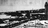 Gyorsan halad a Boráros-téri híd építése: már csak egy ív hiányzik a Horthy Miklós-hídból.