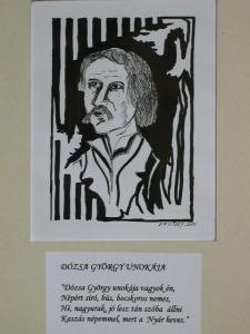 Dózsa György unokája