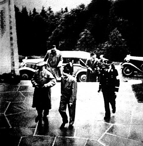 Horthy látogatása Hitler birodalmi vezérnél