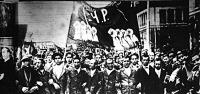 Uccai tüntetés Madridban