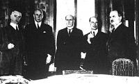 Genfben öt semleges állam (Norvégia, Hollandia, Dánia, Svédország, Finnország) képviselői összeültek az olasz-abesszín kérdés megbeszélésére