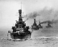 A Repulse cirkáló vezette hajóhad