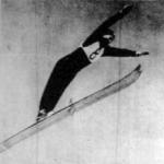 A norvég Birger Ruud a síugrás olimpiai bajnoka