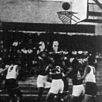 Jelenet a japán-magyar mérkőzésről