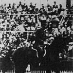 A magyar Visy főhadnagy, akinek lova a Military-tereplovaglásban bokáját törte, a lovat agyonlőtték