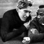 Jesse Owens barátjával Luz Longgal a német távolugróval