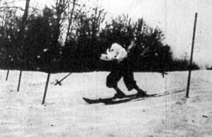 Szalay László verseny közben