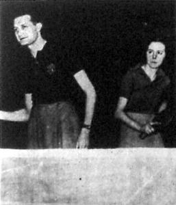 Barna többszörös világbajnok az angol Osborn kisasszony oldalán a vegyespáros verseny győztese