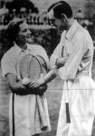 Miss Helene Jacobs és Fred Perry