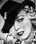 Tószeghy Vilmosné, Róth Margit kalapban
