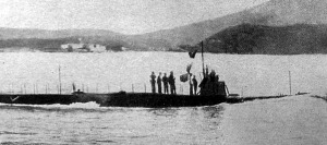 """A """"Medusa"""" olasz tengeralattjáró, melyet egyik tengeralattjárónk elsüllyesztett"""