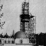 A török mecset tornyát a törökök kívánságára lebontják