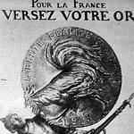 A francia hadikölcsön jegyzésére nagy művészek plakátrajzaival csábították a francia közönséget