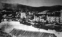 Ez volt Bilbao, a baszkok kikötővárosa. A polgári lakosság részben Franciaországba, részint  Angliába menekült.