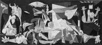 Picasso világhírű festménye Guernica április 26-i lebombázásáról