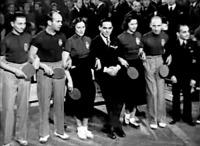 A győztes magyar pingpongcsapat