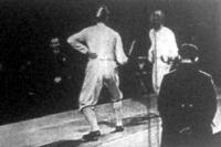 Kabos (szemben) és Kovács asszója a csapatbajnokságokban