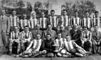 A Ferencváros KK-győztes csapata 1937-ben