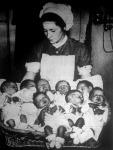 Csabai Tóth Lajos hentesmester felesége nyolc élő ikernek adott életet