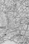 Makó helyrajzi felosztása a századfordulón
