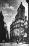 A Standard Oil Company épülete a newyorki Broadway elején.  Legutóbb építettek még további húsz emeletet a tetejébe.