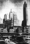 Légikikötő a felhőkarcolók lábánál. A newyorki Downtown légikikötő a híres pénzügyi negyed, a Wall Street közelében van, itt kötnek ki a pénzfejedelmek hidroplánjukkal.