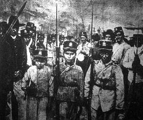 Columbiai polgárháboru.