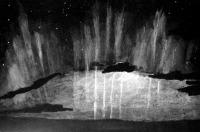 Északi fény Pannonhalmán 1938. január 25-én