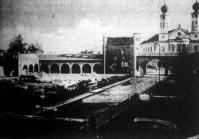 Szent István király székesfehérvári bazilikájának ásatási területét lezáró királyi árkádsor