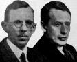 Davisson, C. J. és Thomson, G. P., a fizikai Nobel-díj nyertesei 1937-ben