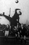 Jelenet a Kispest-Hungária (3-1) mérkőzésről