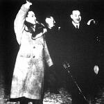 Ciano grófot fogadja Darányi miniszterelnök és Kánya külügyminiszter