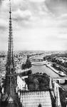 Kilátás a Notre Dame -ból