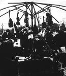 Tíz hegedű keres egy vevőt a Teleki téren