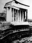 Épül Nürnbergben a nemzeti szocialista párt (NSDAP) állandó kongresszusi csarnoka
