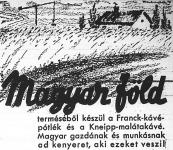 Magyar termék vásárlására felhívó hirdetés