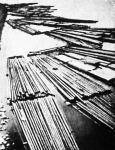 Az első tutajok megérkeztek a Vágon Komárom alá