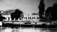 Bontás az óbudai hajógyárban