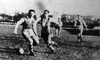 Jelenet a Ferencváros - Szolnoki MÁV (5-3) labdarúgó mérkőzésről