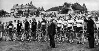A magyar és a német kerékpárosok