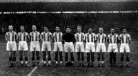 Az Újpest bajnokcsapata: Futó, Kállai, Szűgy, Seres, Zsengellér, Hóri, Tóth M, Joós, Balogh, Vincze, Kocsis