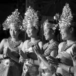 Táncosok Bali szigetéről