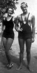 Ottlik Géza feleségével 1936 nyarán