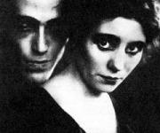 Pitoeff feleségével Ludmillával