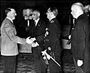 Teleki és Csáky Hitlernél