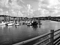 A kikötő Dieppe-ben